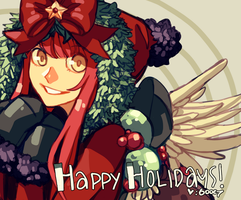 Happy Holidays! by Gooweee