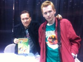 Me and Billy West by NearRyuzaki90