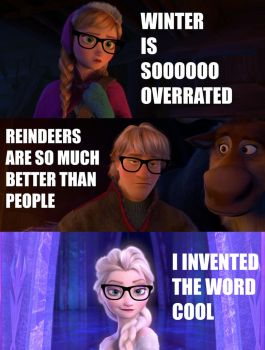Frozen Hipsters by Creepyland