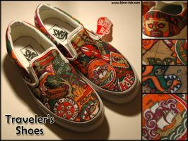 Traveler's Shoes by kina