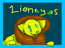 Lioneyes - - - Whaddya lookin' at me for? by snug-glasses
