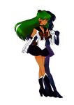 Sailor Pluto by MilkPeach