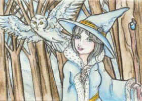 And Winter Comes (ACEO) by Keyshe54
