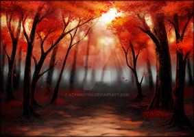 Red Forest by AzyoMecha