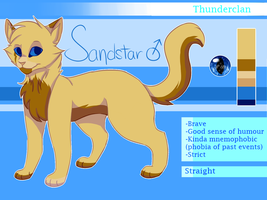 Sandstar - Ref. Sheet by melo3001