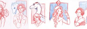 Pernese portraits by KiraMizuno