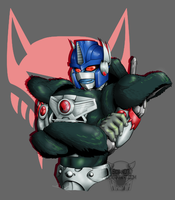 Optimus Primal (With Link) by Sidian07
