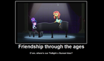 Frienship through the ages meme by Sonic2125