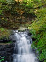 Ricketts Glen State Park 21 by Dracoart-Stock