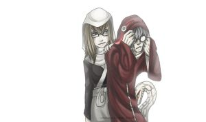 Kabuto n Nonou: Nothing...? by Yakushi--Kabuto