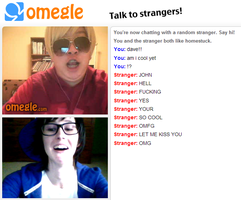 JOHNDAVE - OMEGLE by captchalogue-it