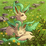 Gotta Draw 'em All Collab - Leafeon by Krisantyne