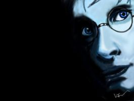 harry potter speed painting by rocketman28