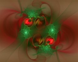 Christmas Abstract by Frankief