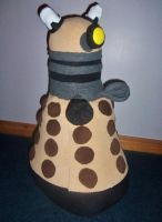 Dalek Plush Commish - Daily-Ruse by Sparkle-And-Sunshine