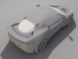 Lotus Evora No.6 by rockgem3d