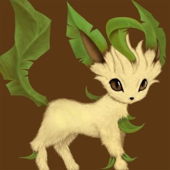 Leafeon by Jedi-Of-Jaz