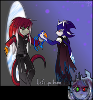 Metal+RK:. Let's Go Home by cyberill