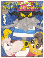 Rayman and Kristina: Revenge of Razorbeard cover by Magic-Kristina-KW