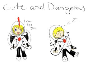 turrets: cute and dangerous by StrawberryCrescent