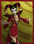Ms. Ming The Merciless by AquaMoonlight