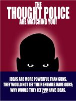 thought police by Satansgoalie