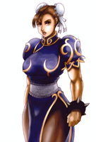 Chun-Li by BlackExcell