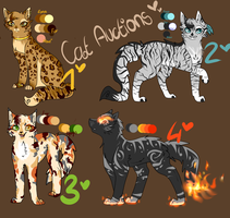 Cat auctions- Open by Owlfeather25