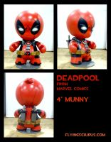 deadpool munny by FlyingSciurus