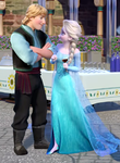 Kristoff and Elsa - Frozen Fever by Simmeh