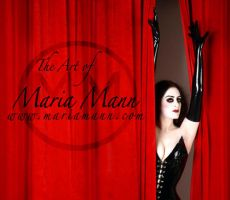 The Art Of Maria Mann by FACE-tte-S--of-MARIA
