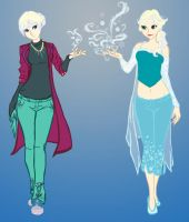 Morden Elsa by Kitty-Olenic