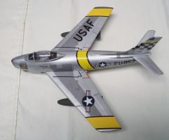 Aircraft of the Aces: Bolt's F-86F Sabre by sentinel28a