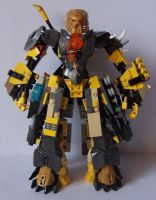 Steelax Master of Weapons (my Self-MOC) 1 by SteelJack7707