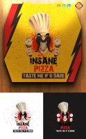 Insane Pizza Logo by LuisFaus