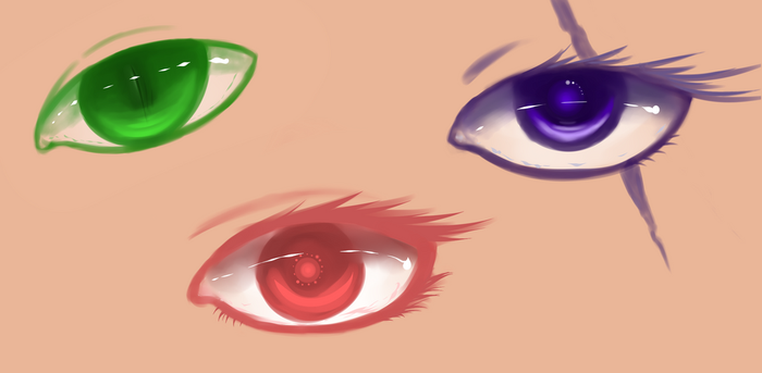 [Practicing] Eyes by melphith