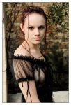 Angel in Spanish lace 2 by wildplaces