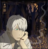 Ginko. Campfire. by broom-rider