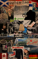 Globalization and identity collage by Sketchyeh