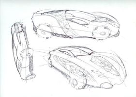 Car Sketches 6 by Powerblock