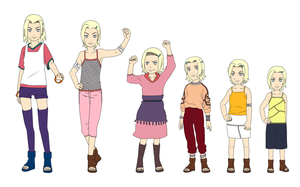 Ino Yamanaka Outfit Color Child by SunakiSabakuno