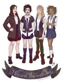 The Craft by julsillustrated