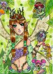 ACEO 16: New sister by Solceress