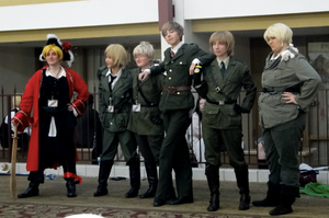 AnimeDetour 2011-Englishmen by SandSibilings