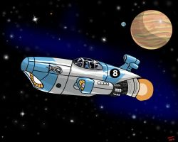 Space Fighter by DLTabor