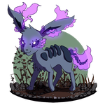Eeveelution: Phanteon (Ghost-Type) by Infinity-Realm