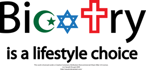 Bigotry is a lifestyle choice by Savark