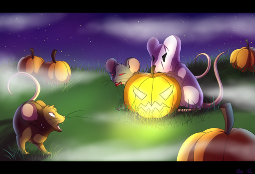 Halloween of the Mice by Pyttinski
