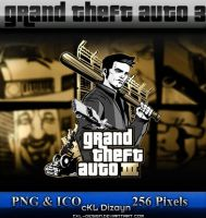 gta 3 - 10 year icon by cKL-Design