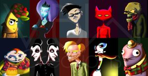 Courage the Cowardly Dog Series by VickiBeWicked